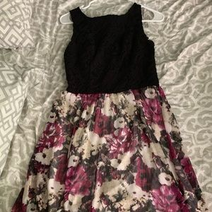 Floral dress from Maurice's
